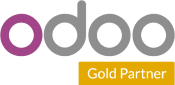 Odoo gold partner logo